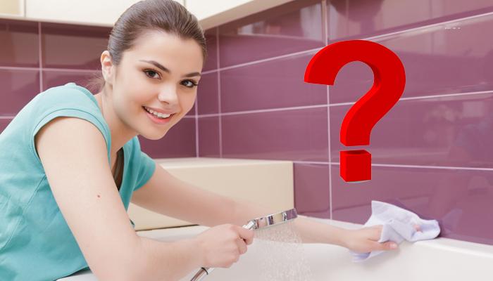Можно ли мыть акриловую ванну меламиновой губкой
